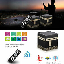 Kaaba shape Quran Speaker 8G FM TF Card Azan Muslim Gifts MP3 Player Islam