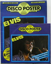 "ELVIS PRESLEY Disco Poster 1985 MEXICO Only 7"" 45rpm EP + POSTER Promo MINTY!"