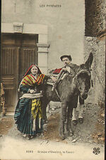 early 1900s - les pyrenees - groupe d'ossalois le favori
