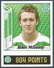 PANINI SCOTTISH PREMIER LEAGUE 2008- #081-CELTIC-AIDEN McGEADY
