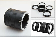 UK New Macro Extension Tube Ring Adapter Set For Canon EOS DSLR 7D 5D III etc