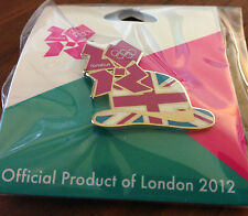 London 2012 Union Jack Derby Olympic Pin