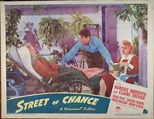 STREET OF CHANCE,Burgess Meredith,Claire Trevor,lc836