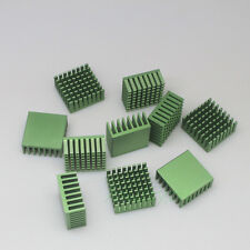 100pcs Aluminium Cooler Cooling Heatsink For IC VGA RAM Chipset w/ Thermal Glue