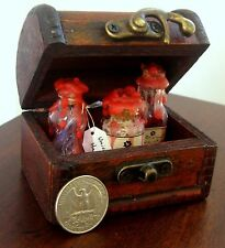Harry Potter Mini Trunk Set Potions Hogwarts Fantastic Beasts Miniature Prop