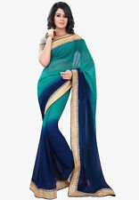 Bollywood Indian Pakistani Ethnic Designer Saree Sari With Blouse