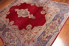 "8'6"" x 11' SEMI ANTIQUE HAND KNOTTED PERSIAN KERMAN AREA RUG 100% WOOL"