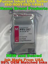 PFI-107 magenta ink cartridge for canon ipf 670 680 685 770 780 785 zx m not oem