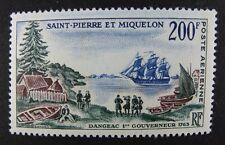ST. PIERRE & MIQUELON SPM 1963 Gouverneur Schiff Sailing Ship Baum 403 ** MNH