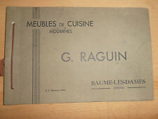 catalogue meuble de cuisine vintage Baume le Dames - Doubs 25 ( ref 18 )
