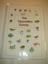 THE OPPOSITES GAME BOOK Autism/Special Needs