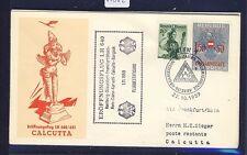 50862) LH FF Deutschland - Calcutta Indien 1.11.59, SoU ab Österreich SST Wien