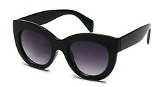 Women Sunglasses Black Cat Eye Designer Celebrity Retro Fashion Style
