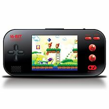 "dreamGEAR My Arcade Gamer Max Portable Handheld 3.2"" LCD 220 16-Bit Video Games"