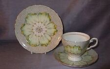 Vintage Tuscan China  Lotus Trio tea cup, saucer and plate