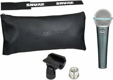 Shure BETA57A high-output Supercardiod Dynamic Microphone