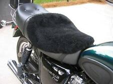 Motorcycle sheep skin seat cover: Cruisers, Made in USA!