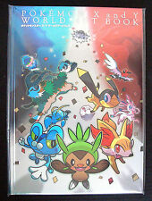 Pocket Monster Official Pokemon X and Y World Art Book Japan Pokemon Center RARE