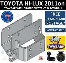 Towbar for Toyota Hi Lux 4WD Pick Up with Under Run Bar 2011-2016 Inc Invincible