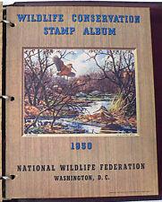 WILDLIFE CONSERVATION STAMP 1950 ALBUM