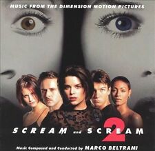 Audio CD Scream And Scream 2: Music From The Dimension Motion Pictures  - Free S
