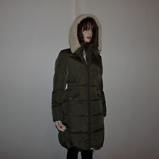 New  Authentic Coach Icon long Puffer Down  Green Jacket Coat  Coat  Size small