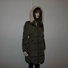 New  Authentic Coach Icon long Puffer Down  Green Jacket Coat  Coat  Size Xsmall