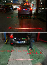 for BMW/DODGE/fiat/ford  LED Warning Light Auto Anti-collision Laser Fog Lamp