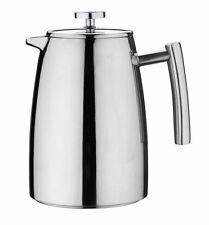 Grunwerg 12 Cup Belmont Double Wall Stainless Steel Cafetiere Coffee French