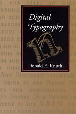 Digital Typography (Lecture Notes), Knuth, Donald E., Good Book