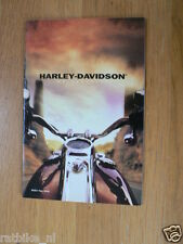 D234 BROCHURE HARLEY-DAVIDSON 2000 ALL MODELS ENGLISH 22 PAGES