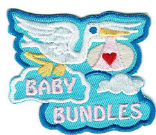 Girl Boy BABY BUNDLES Shower Patches Crest Badges SCOUT GUIDE packages gifts