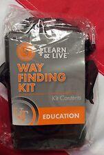 Wayfinding card kit set survival emergency disaster tactical UST navigation gift