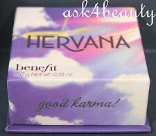 Benefit Hervana Face Powder Blush Good Karma 0.28oz/8g New In Box
