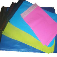 50 MIX PACK PINK BLUE GREEN TURQUOISE STRONG COLOURED MAILING POSTAGE BAGS