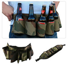 Party Beer & Soda Drink Can Belt 6 Pack Holster - Great For Beer Lovers F7