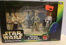 lot figures star wars blister,purchase of the droids,potf2,kenner,vintage