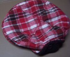 NWT GYMBOREE GINGERBREAD BOY PLAID DRIVER WINTER HAT 0-3 mo  Free US Shipping