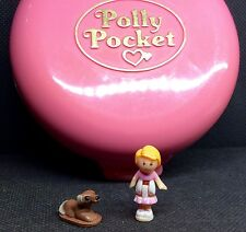 Polly Pocket Mini �� Dose  1989 - Buttons' Animal Hospital Hund Katze