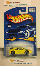 Ferrari F355 #191 * Yellow w/ Rare 5sp Rims * 2001 Hot Wheels * K20