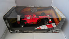 "1/18 FERRARI F2001 ""KING OF RAIN"" MICHAEL SCHUMACHER WORLD CHAMPION BY HOTWHEELS"