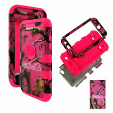 Hybrid Pink RGHT2 3 in 1 Apple iPod Touch 4 4th Gen Case Cover