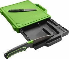 GERBER Freescape Camp Kitchen Kit Wrap Cutting Board Green And Black 30-001041