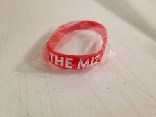 THE MIZ HATERS LOVE ME  3 WRESTLING WWE RUBBER COLLECTORS TRADING BRACELET NEW