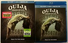 OUIJA ORIGIN OF EVIL BLU RAY DVD 2 DISC SET + SLIPCOVER SLEEVE FREE SHIPPING