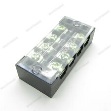 5×Barrier Terminal Block 25A 600V 4 Pole Position Way TB2504L for 22-12AWG