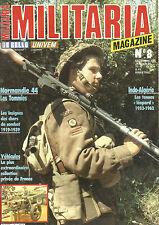 MILITARIA N°08 LES TOMMIES / INSIGNES DES CHARS DE COMBAT 1919-39 / INDO-ALGERIE
