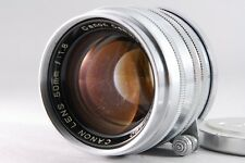 [Excllent+++] CANON L 50mm F1.8 Metal Lens LEICA Screw Mount LTM L39 Lens #00066