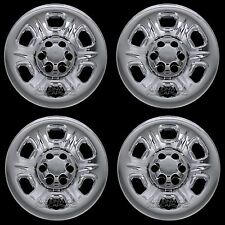"4 CHROME 2005-2016 Nissan Frontier 15"" Wheel Skins Hub Caps Covers Simulators"