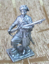 54 mm Tin Miniature sculpture Figure Toy soldier Ukrainian Cossack, 17th century